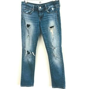 American Eagle Distressed Skinny Jeans 6